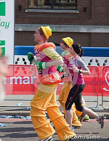 31st London Marathon Editorial Photo