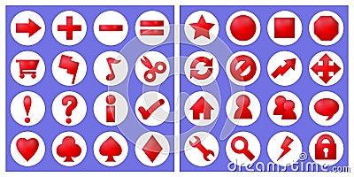 32 basic icons