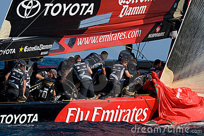 322nd America s Cup Editorial Stock Image