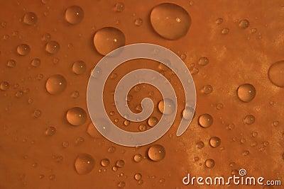 背景丢弃橙色水