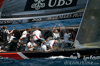 32nd America s Cup Editorial Photography