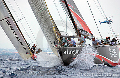32nd America s Cup Editorial Stock Image