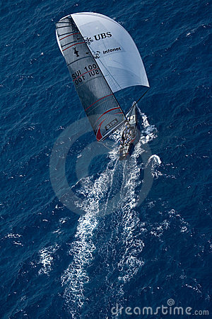 32nd America s Cup Editorial Photo