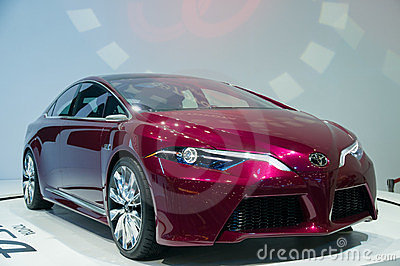 33rd Bangkok International Motor Show 2012 Editorial Stock Photo