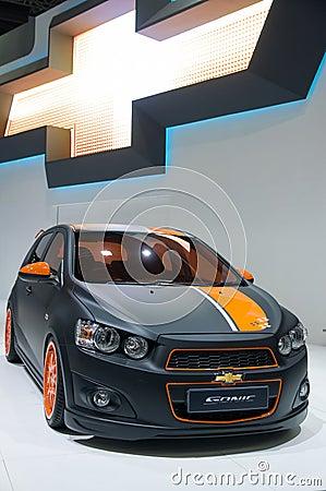 33rd Bangkok International Motor Show 2012 Editorial Photo