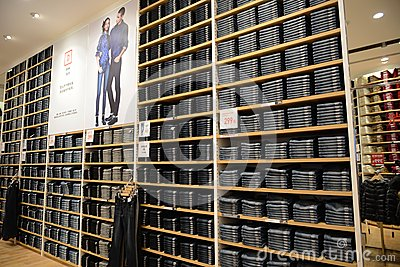 Racks Of Clothes In A Menswear Store Stock Photo | Getty Images