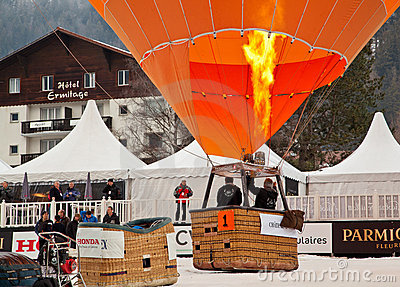34th Festival International de Ballons Editorial Image