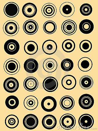 35 Circle Graphic Elements