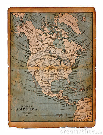 35 Map of North America