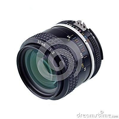 35 mm camera lense