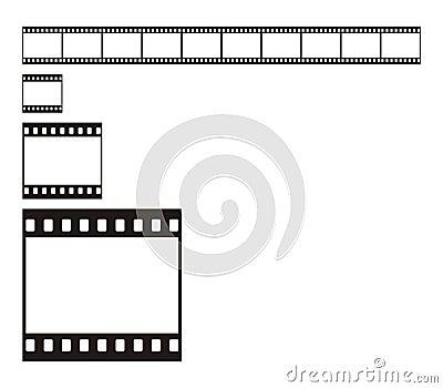 35 mm Film Stripe
