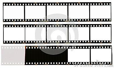 35 mm filmstrip, 12 picture frames,