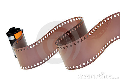 35mm Classic Negative Film Roll Isolated Stock Images ...