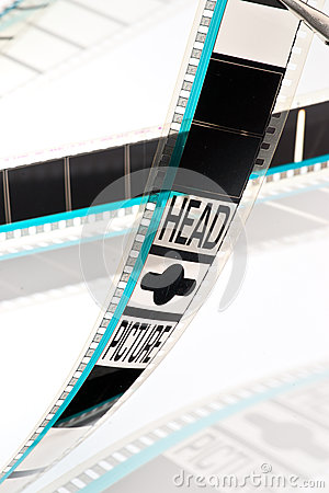 35mm film projection