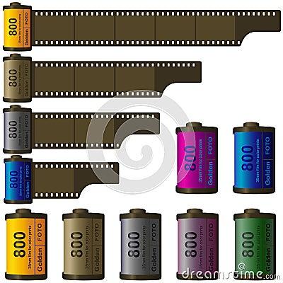 35mm film roll