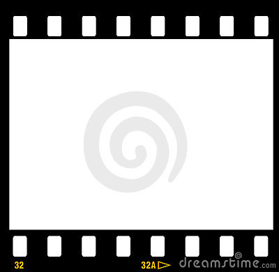 Free 35mm Film Strip Frame Frames Royalty Free Stock Image - 928406