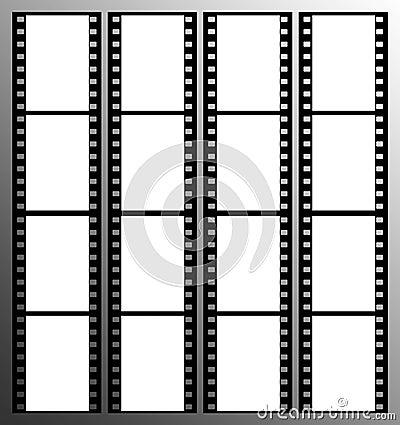 35mm film strip frames frame