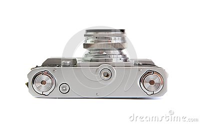 35mm kamery filmu rangefinder spodu rocznik