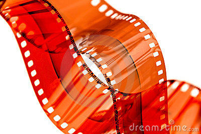 35mm negative film strip