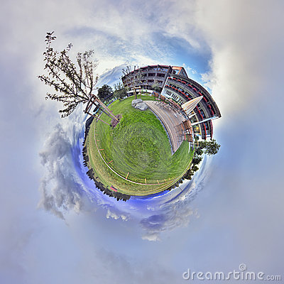 360 degrees panrama of hotel Kaufmann
