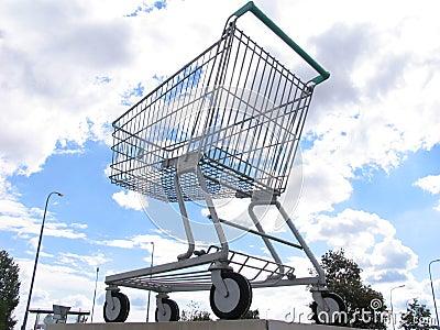 购物车巨型购物