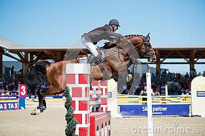 36th Postova Banka-Peugeot Grand Prix Show Jumping Editorial Photo