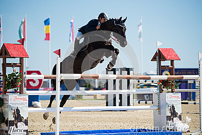 36th Postova Banka-Peugeot Grand Prix Show Jumping Editorial Photography