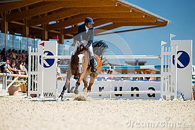 36th Postova Banka-Peugeot Grand Prix Show Jumping Editorial Image