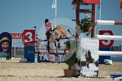 36th Postova Banka-Peugeot Grand Prix Show Jumping Editorial Stock Image