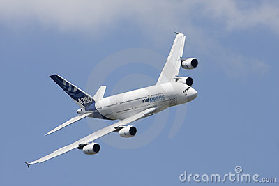 A 380 Editorial Stock Image