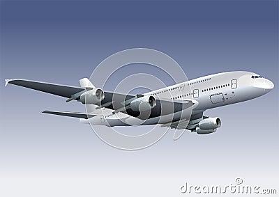 A 380 Lagest Jetliner