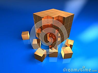 3b cube