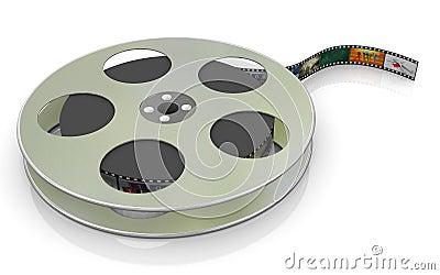 3d 16mm film reel
