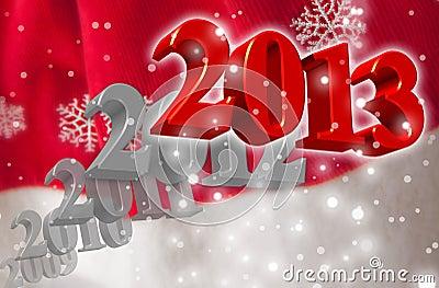 3D 2013 - Greeting Card