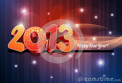 3d 2013 Happy New Year