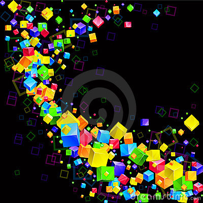 Free 3d Abstract Background Royalty Free Stock Images - 16381149