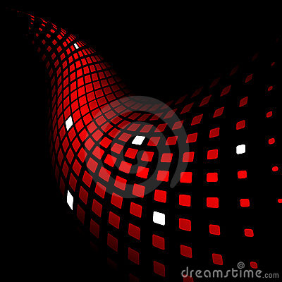 Free 3d Abstract Dynamic Red Background Stock Photo - 13406160