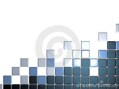 3d abstract levels background