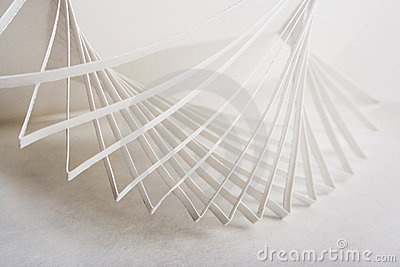 3d Abstract Paper Composition Royalty Free S