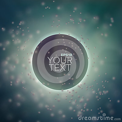 Free 3d Abstract Vector Sphere In Depth And Cloud Of Blurred Particles. Background For Banner Or Title Royalty Free Stock Photography - 91289967