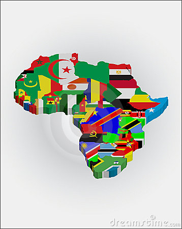 3d African continent