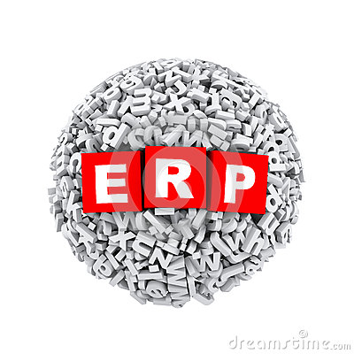 Free 3d Alphabet Letter Character Sphere Ball Erp Royalty Free Stock Photo - 51107605