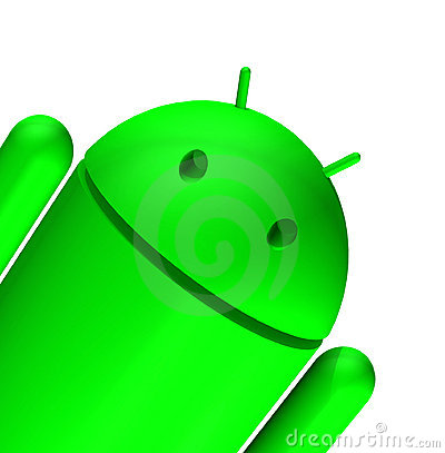 3d Android Editorial Photo