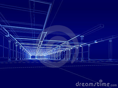 3D architectural construction
