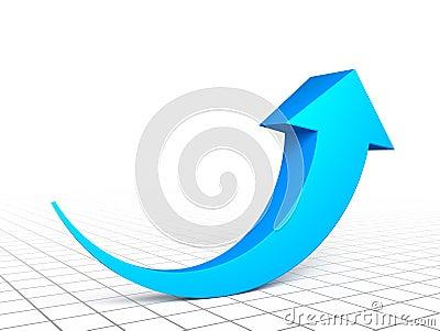 3d arrow graph