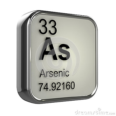 Free 3d Arsenic Element Royalty Free Stock Photography - 39032737