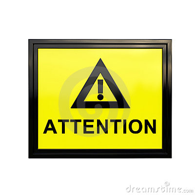 3D Attention sign
