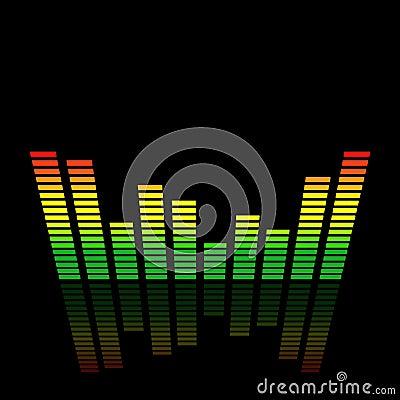 3D Audio Led Level Meter