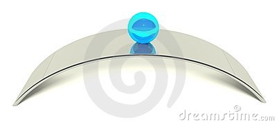 3d ball balance, concept of equilibrium