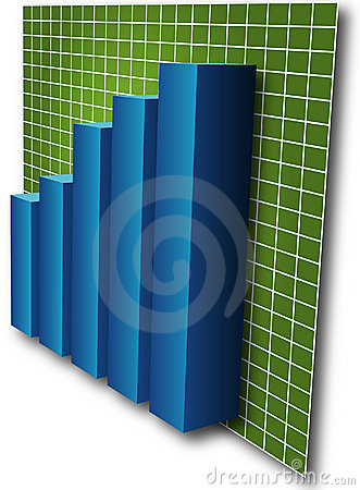 Free 3d Barchart Stock Photo - 104900